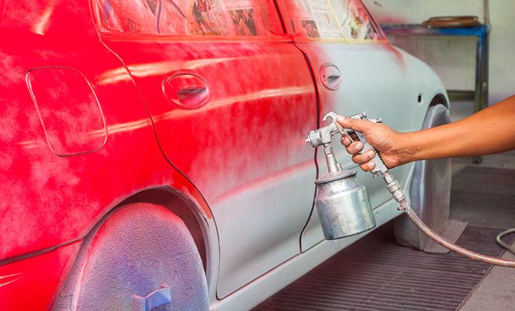 Покраска новых деталей автомобиля своими руками видео